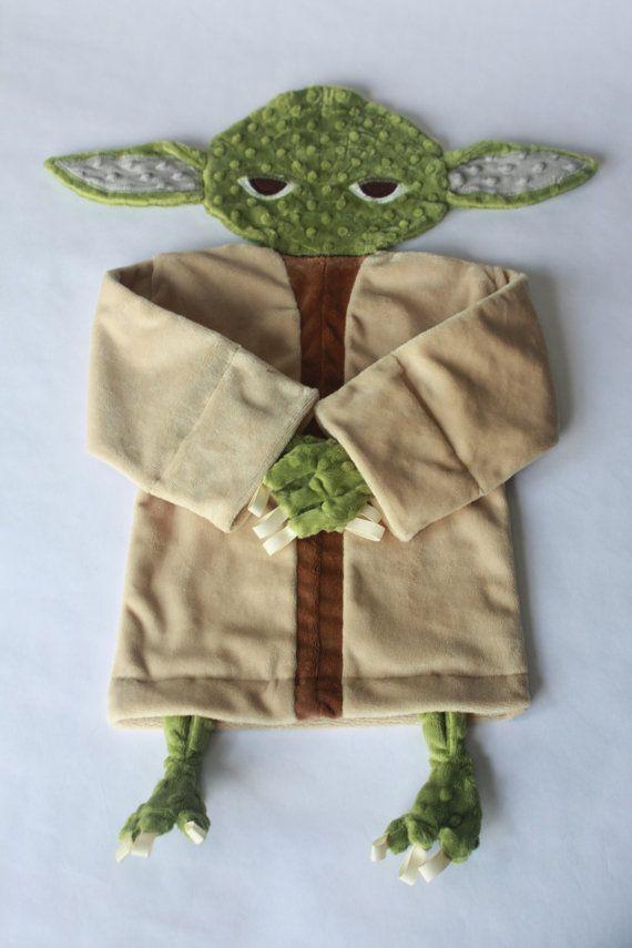Star Wars baby blanket--Yoda security blanket   Star wars ...