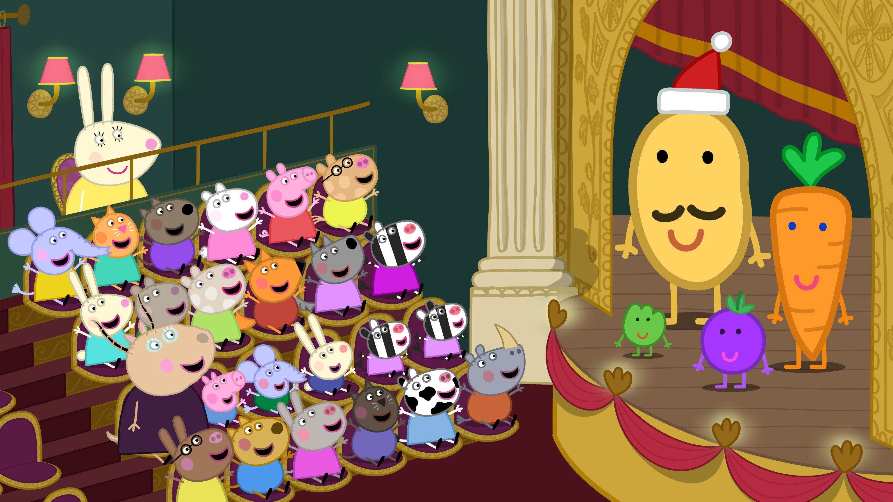 Peppa Pig and friends at the Christmas Show! On DVD 29 October 2012 ...