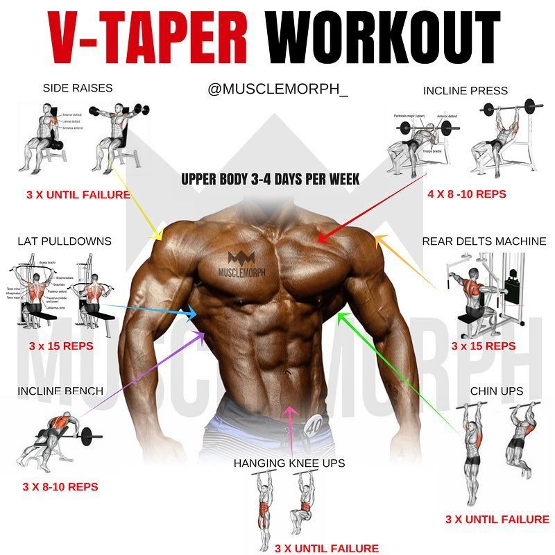 V Taper Workout   EOUA Blog