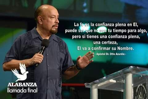 Plena confianza en Dios.  :).