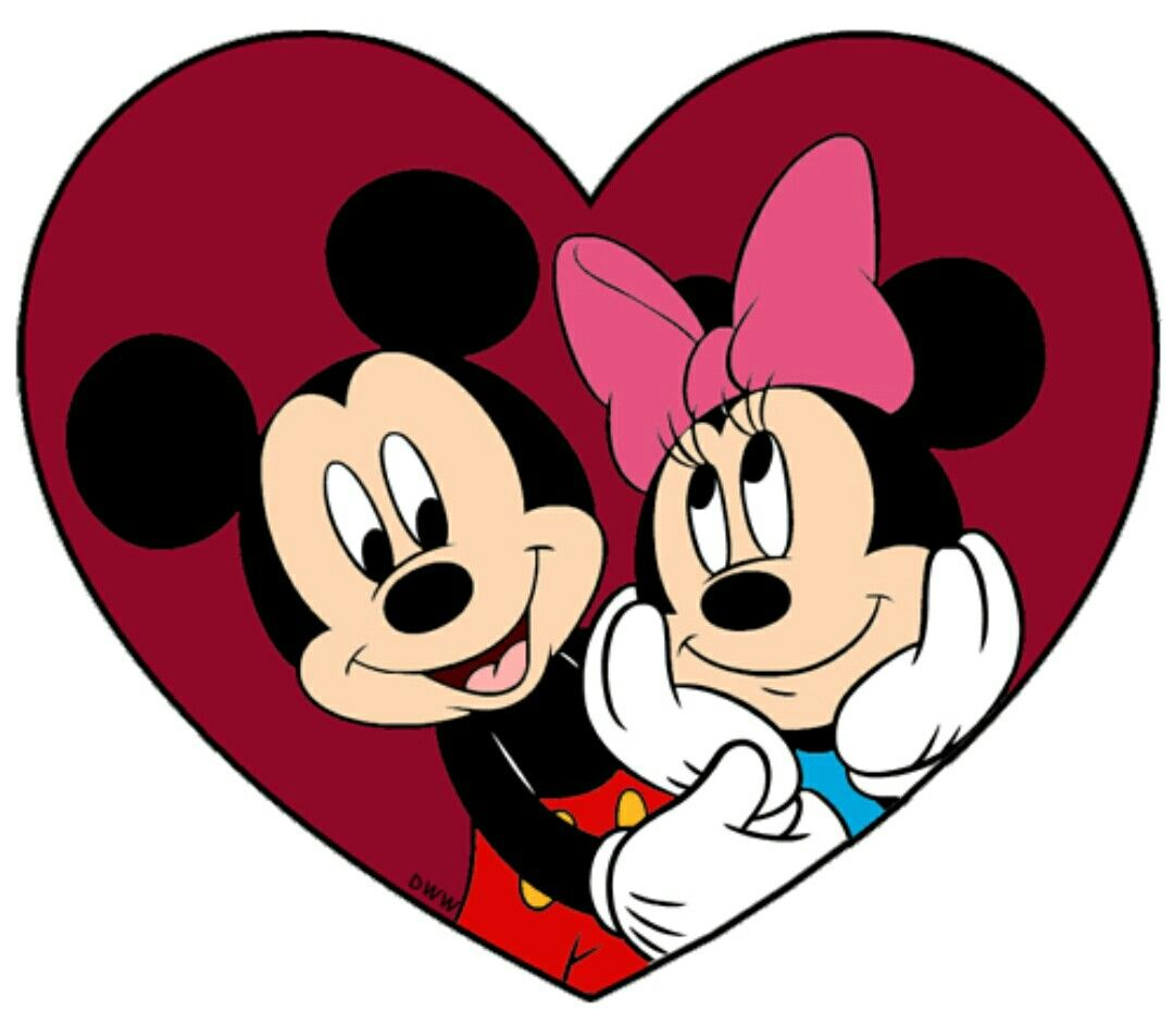736 Disney Mickey /& Minnie Mouse letter set NEW pink heart