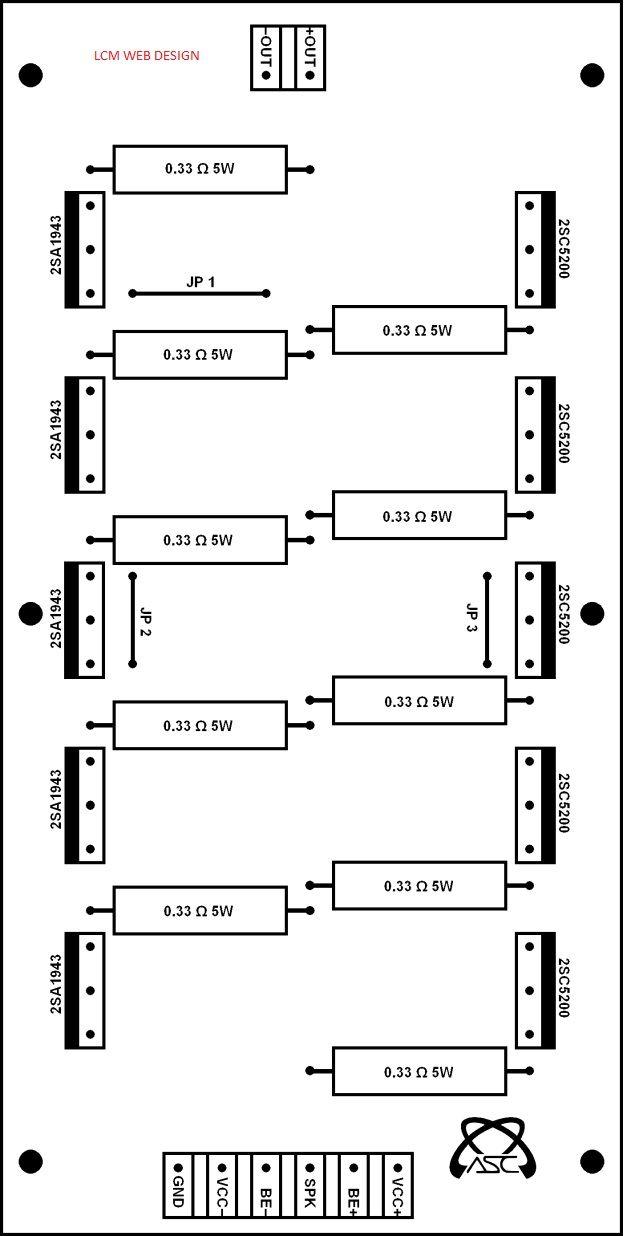 Amplificador Stereo De 1000w Lugares Para Visitar Pinterest Power Amplifier Circuit Diagram Electronic Circuits