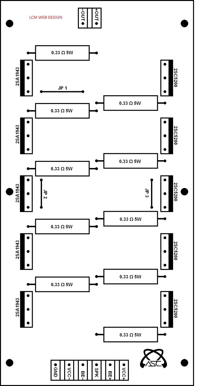 amplificador stereo de 1000w amplificadores pinterest circuit diagram [ 639 x 1236 Pixel ]