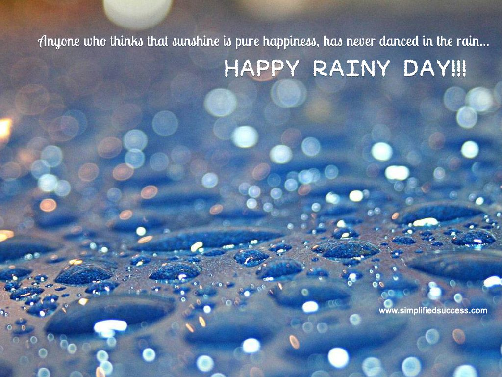 30 Impelling Rain Quotes Pics Champ
