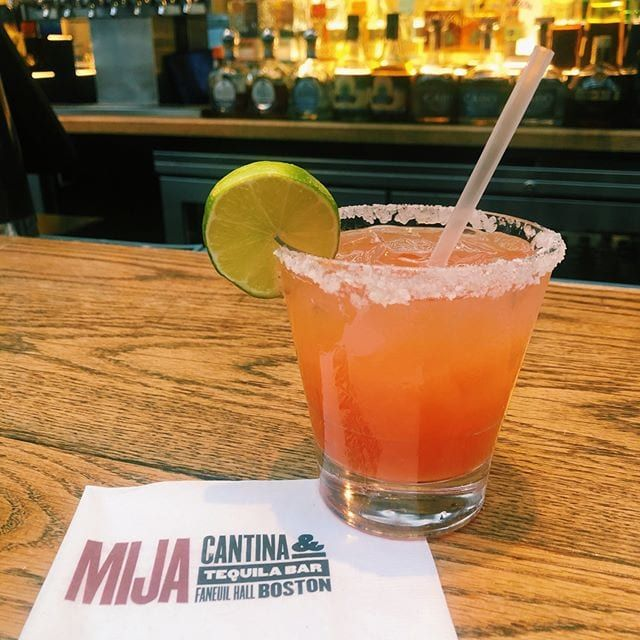 It's beginning to look a lot like Christmas margaritas – Stay tuned for @mijacantina's festive cocktail specials… #FaneuilHall #Boston #christmasmargarita