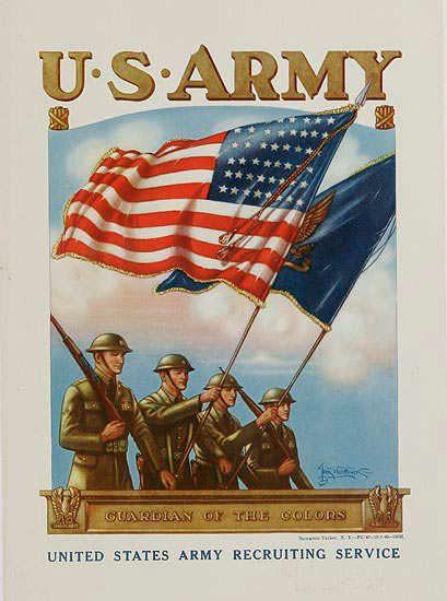Army Framed Canvas Art Print Poster American Diner Vintage U.S Retro