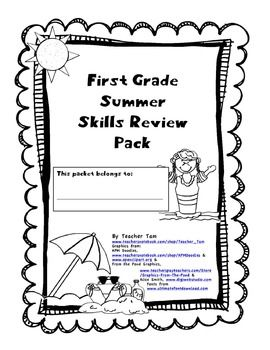 Distance Learning First Grade Going into Second Summer
