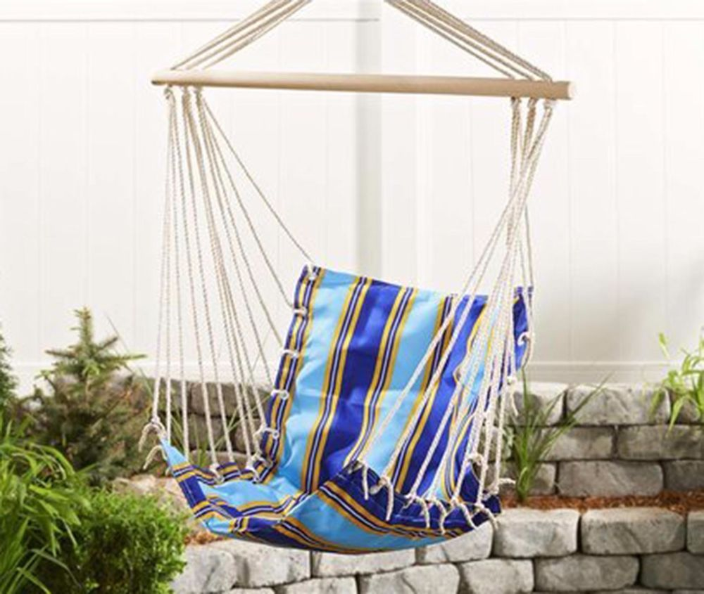 Chair Hammock Hanging Swing Outdoor Porch Rope Seat Patio