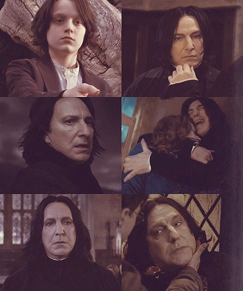 I love Snape so much.
