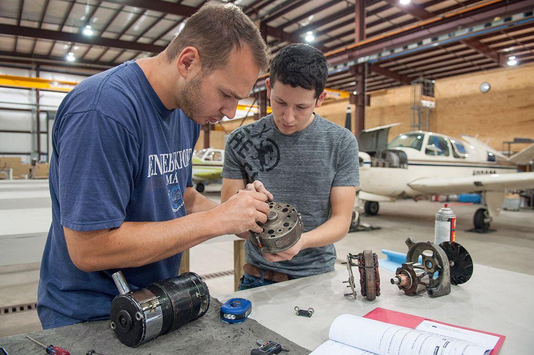 BRCC's aviation maintenance program is filling job, but