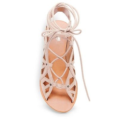 c70e01d857d Women s Nadine Gladiator Sandals - Mossimo Supply Co. Blush 8.5 ...