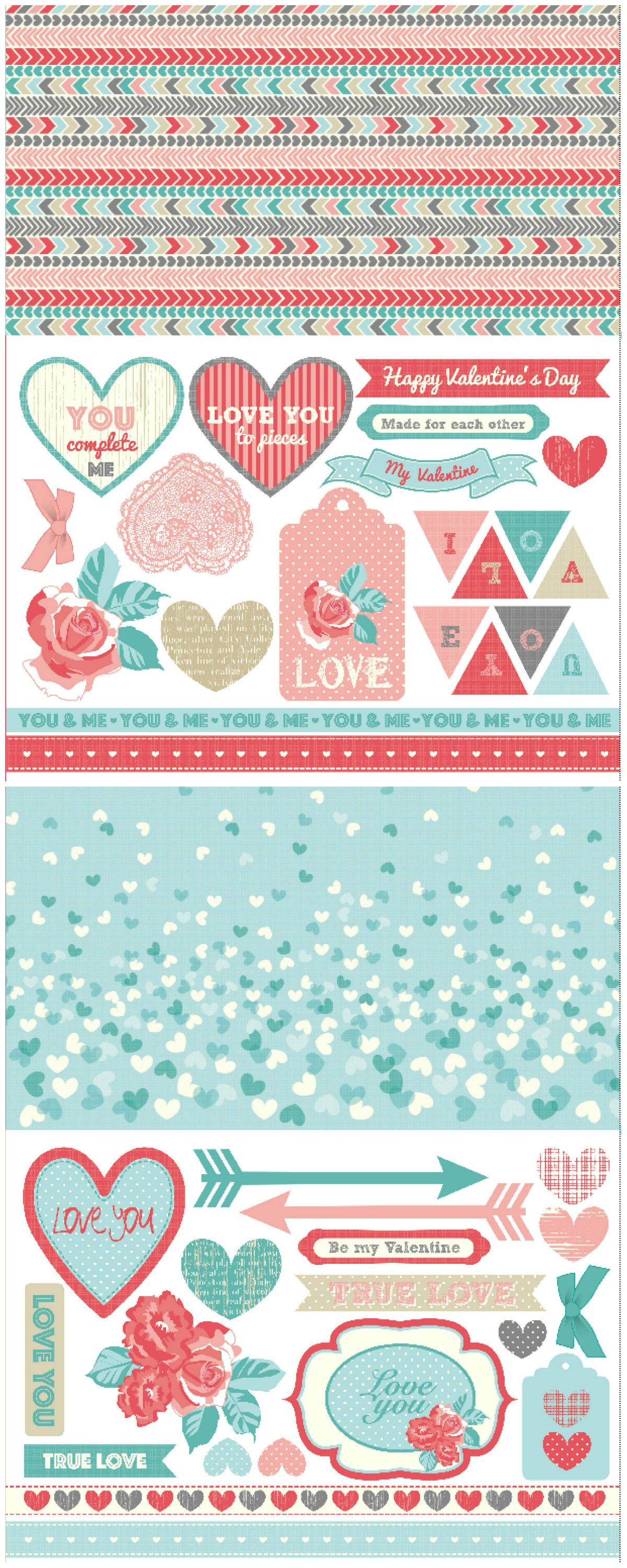 Free Card Making Ideas And Printables Part - 37: Valentineu0027s Day Free Printable Papers - Download Them For Card Making And  Scrapbooking!