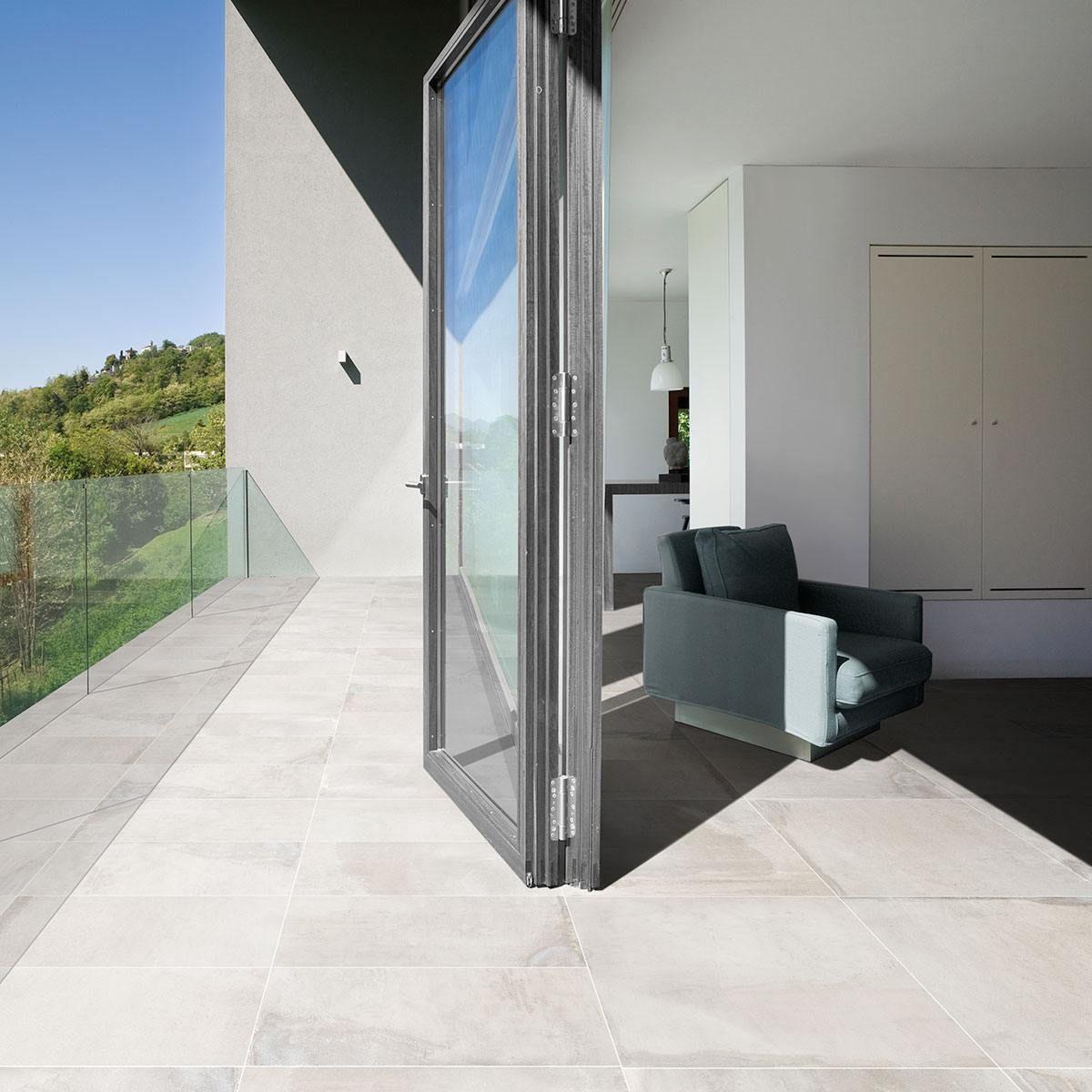 Concept White Concrete floors, Polished concrete, Flooring