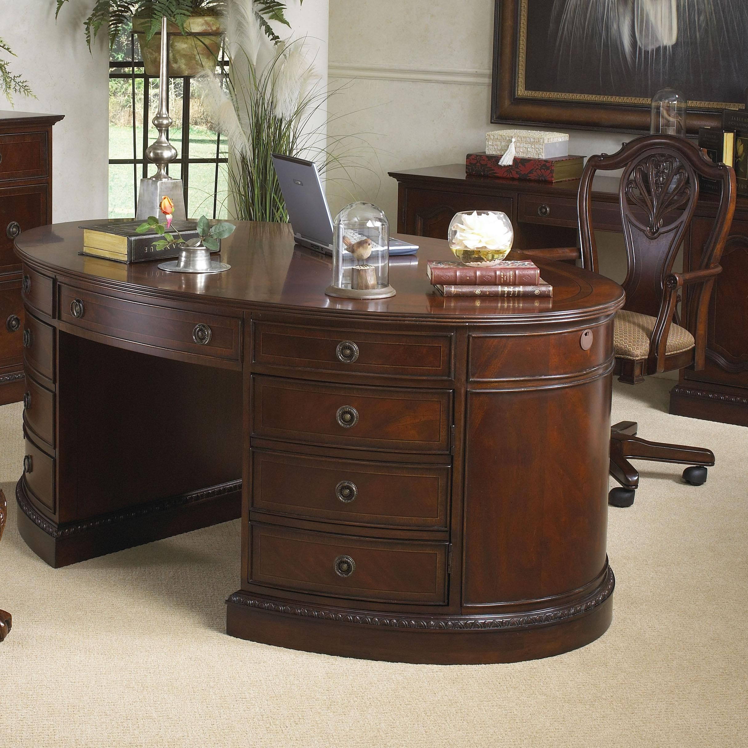 Antebellum Oval Desk By Michael Harrison Collection