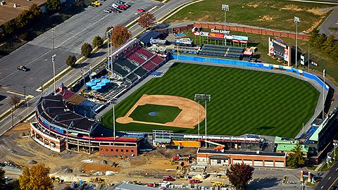 Firstenergy Stadium Reading Pa Phillies Baseball Indoor Outdoor Minor League Baseball