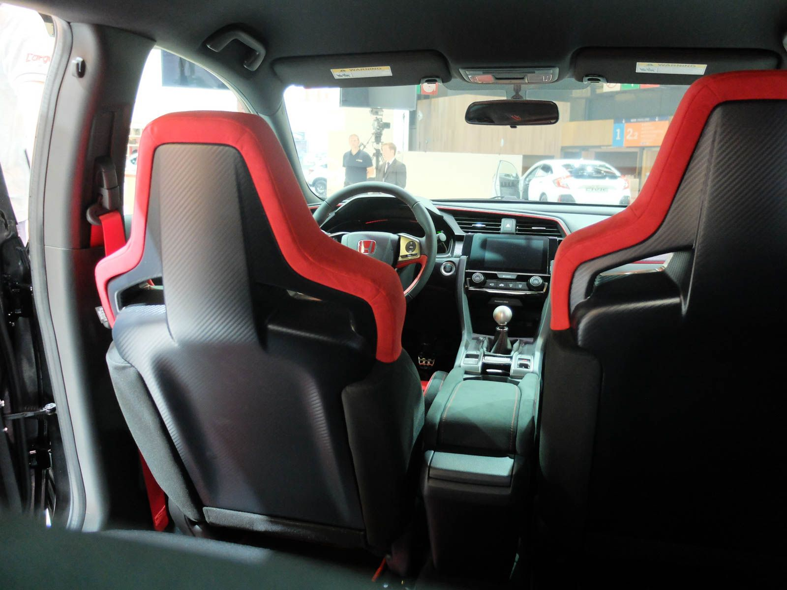 Interior Look 2018 Civic Type R Prototype 2016 Honda Can T Wait To See On The Road We Have Special For New Pm Me