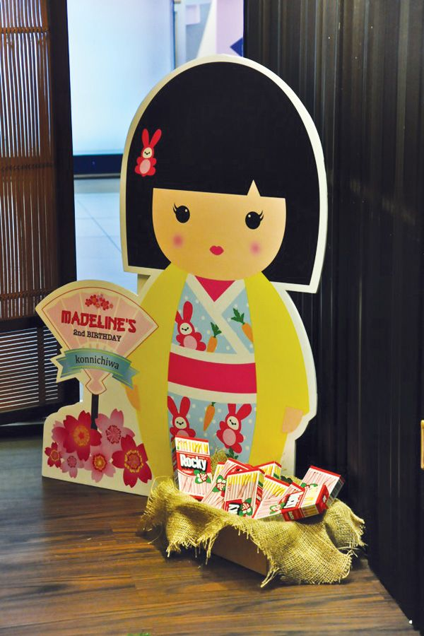 Cheerful Japanese Kimmidoll Themed Party Parties Styled