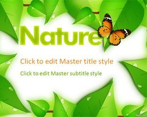 Nature Ppt Template Powerpoint Template Free Ppt Template