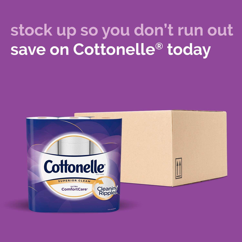 Cottonelle Ultra ComfortCare Toilet Paper, Soft