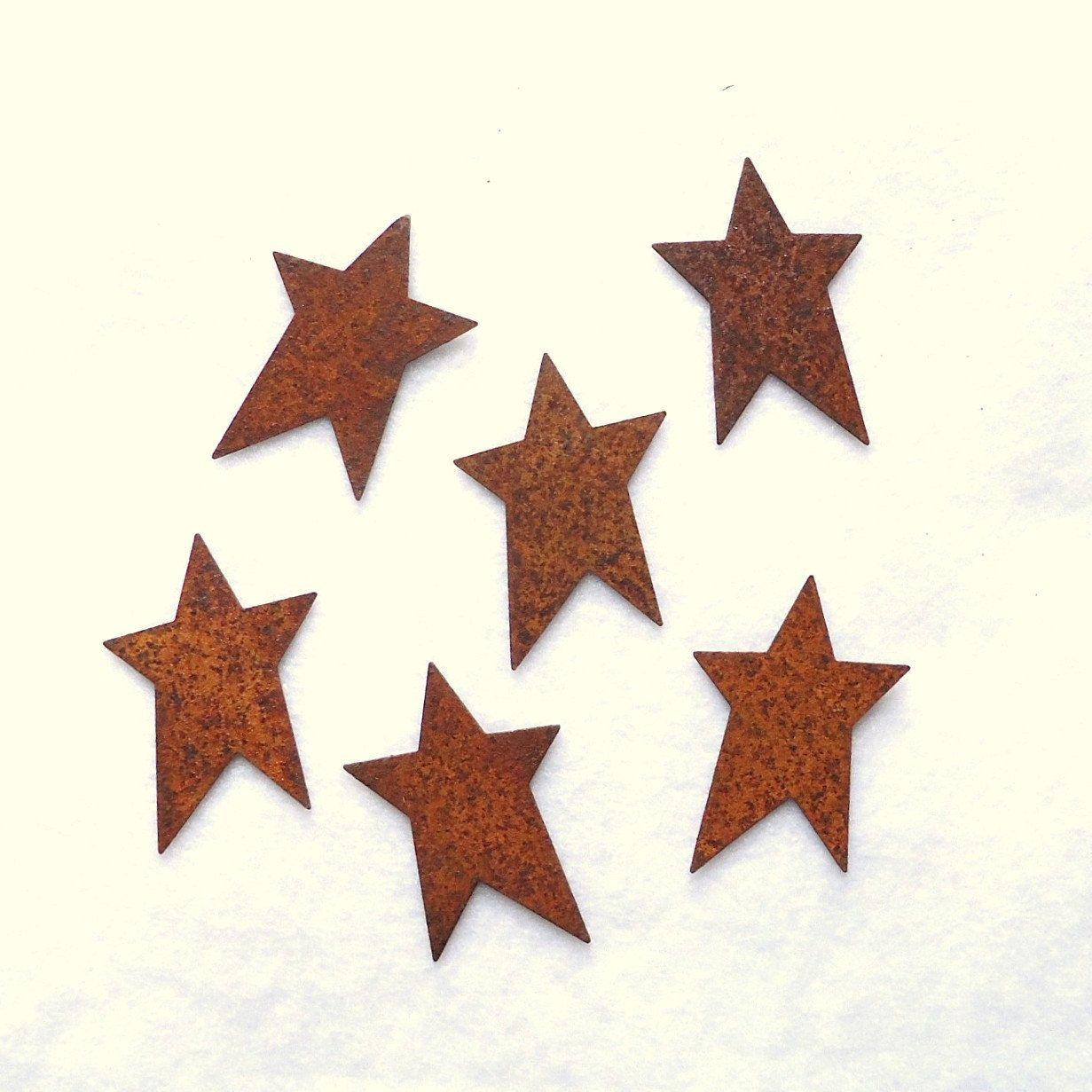 Rustic stars for crafts - Rusty Stars Primitive Stars Craft Supplies Rusty Wire Garland