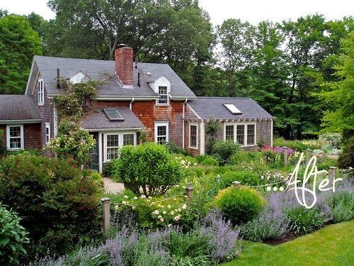 Andrew Grossman's garden via Apartment Therapy