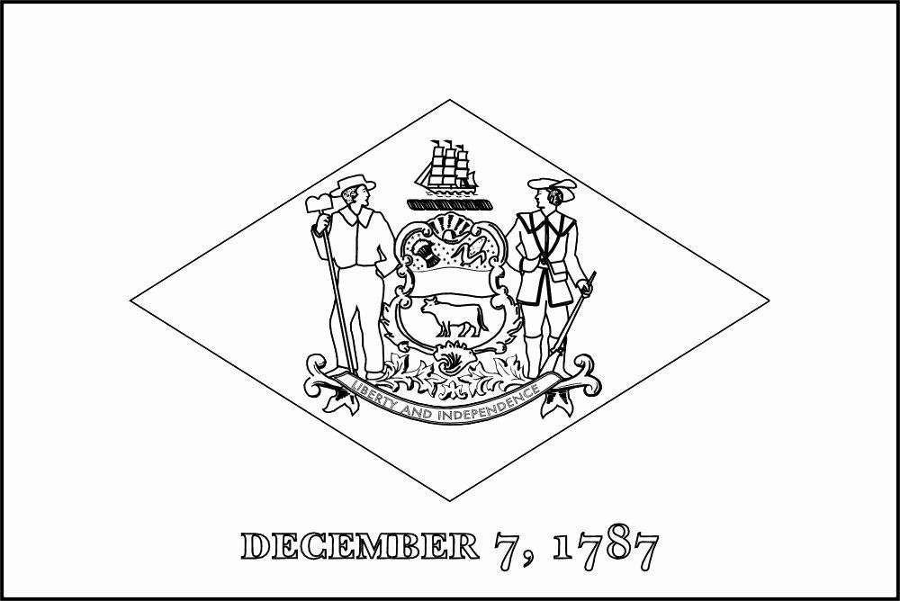 Massachusetts State Flag Coloring Page In 2020 Flag Coloring