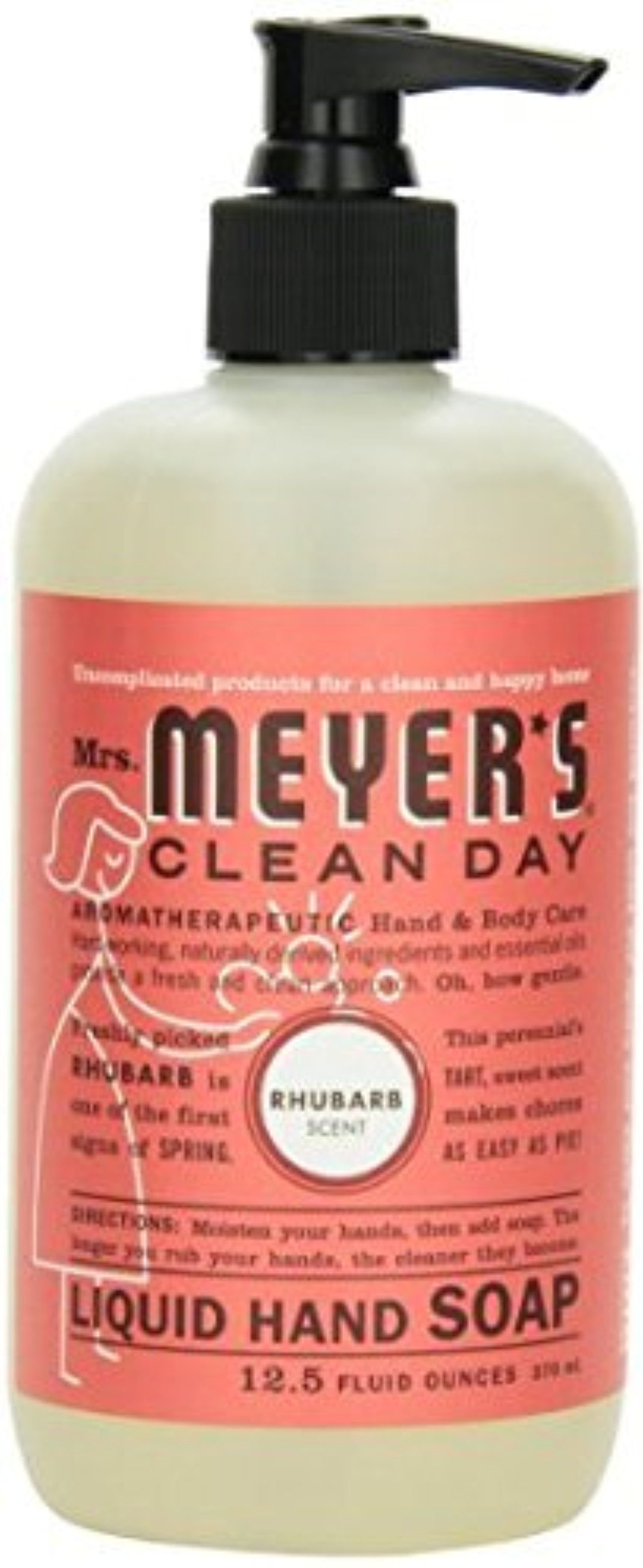 Liquid Hand Soap 12.50 Ounces, Rhubarb 6 Pack by Mrs. Meyers -- Awesome products selected by Anna Churchill