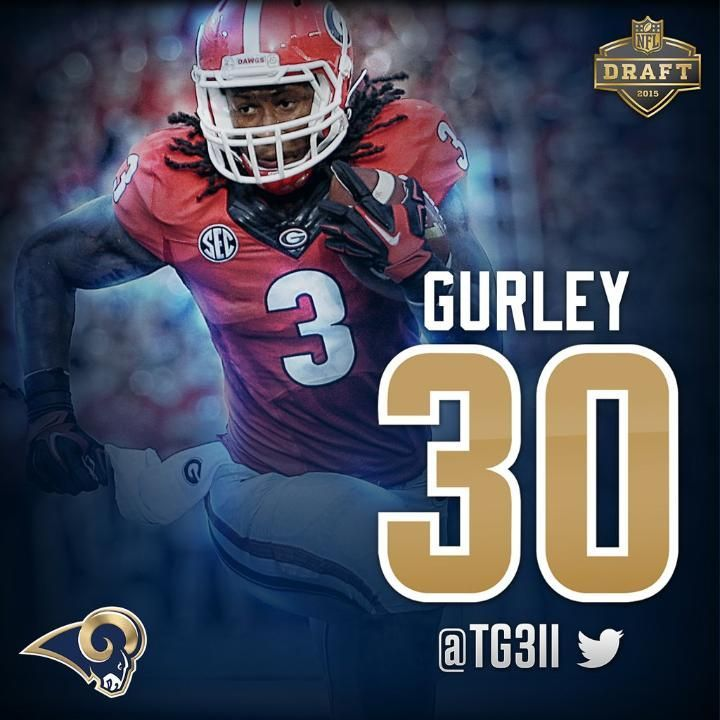 Rb Todd Gurley Of The St Louis Rams Nfl Player Wallpapers