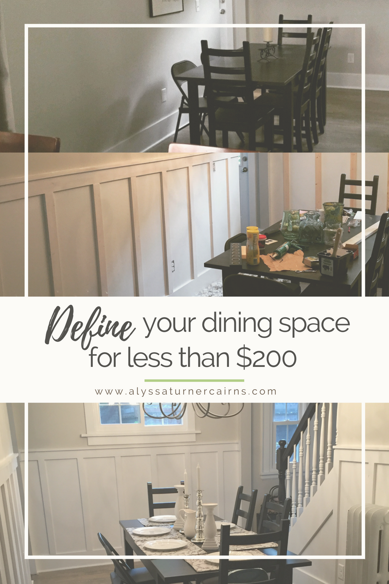 How To Add Major Style To A Dining Room On A Diy Budget  Project Entrancing Dining Room Definition Design Inspiration