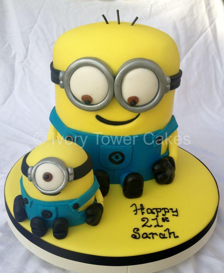 minion cake Google Search Birthday Parties Pinterest Minion