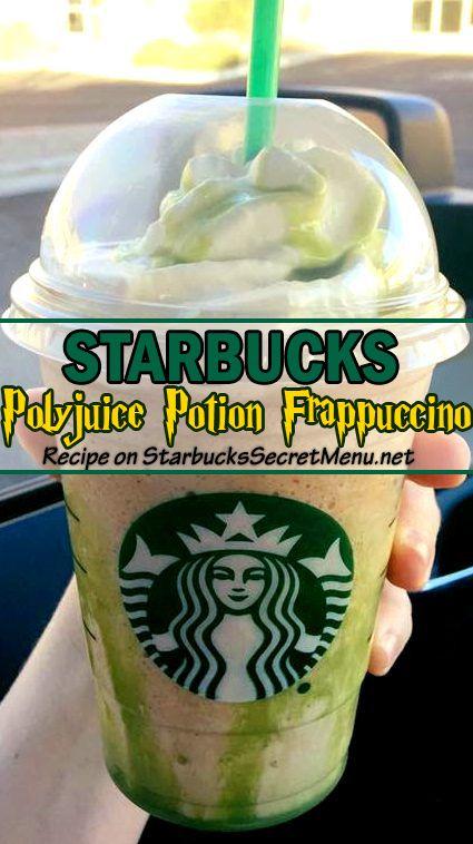 Starbucks Polyjuice Potion Frappuccino In 2019 Starbucks