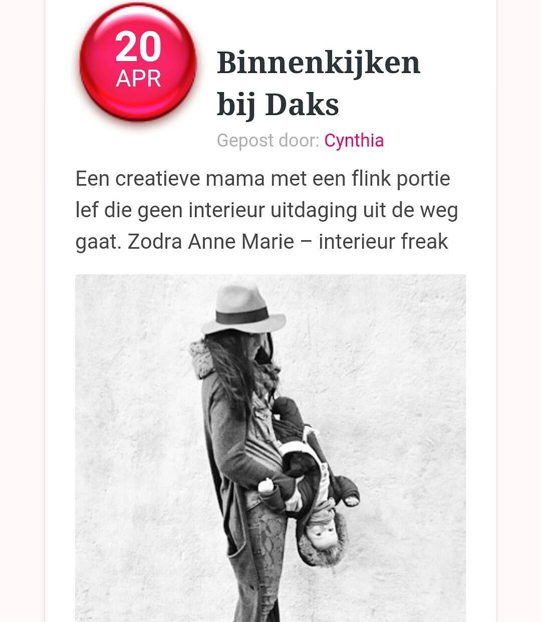 Goodmorning! Vandaag staat er stukje over de kamer van Daks op www.ladylemonade.nl  Go check it out! If you want to! by __amvds__