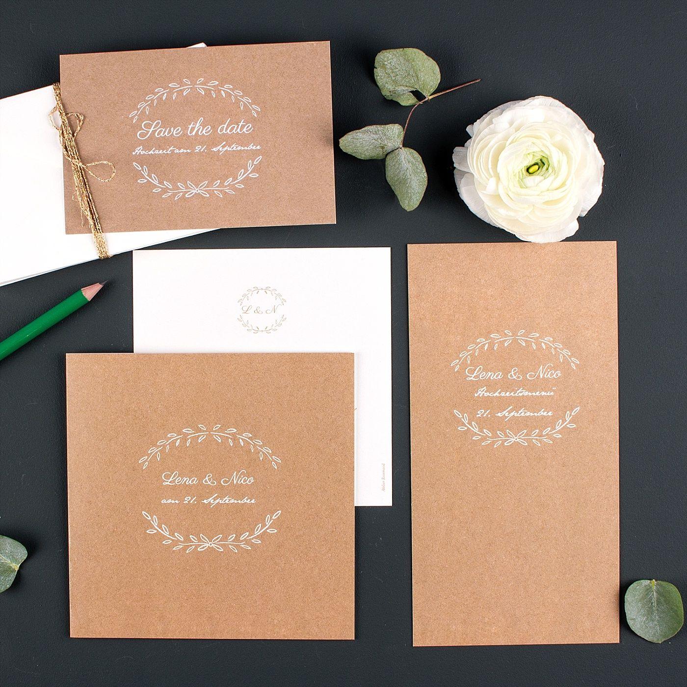 Rosemood: Elegante Hochzeitspapeterie Von Rosemood
