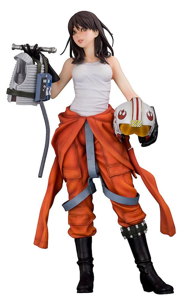 Fashion and Action: Jaina Solo X-Wing Pilot - Bishoujo
