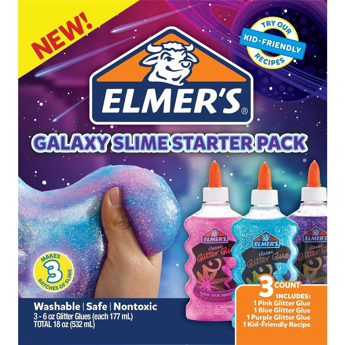 Elmers Galaxy Slime Starter Kit 3 Pack Woolworths Galaxy Slime