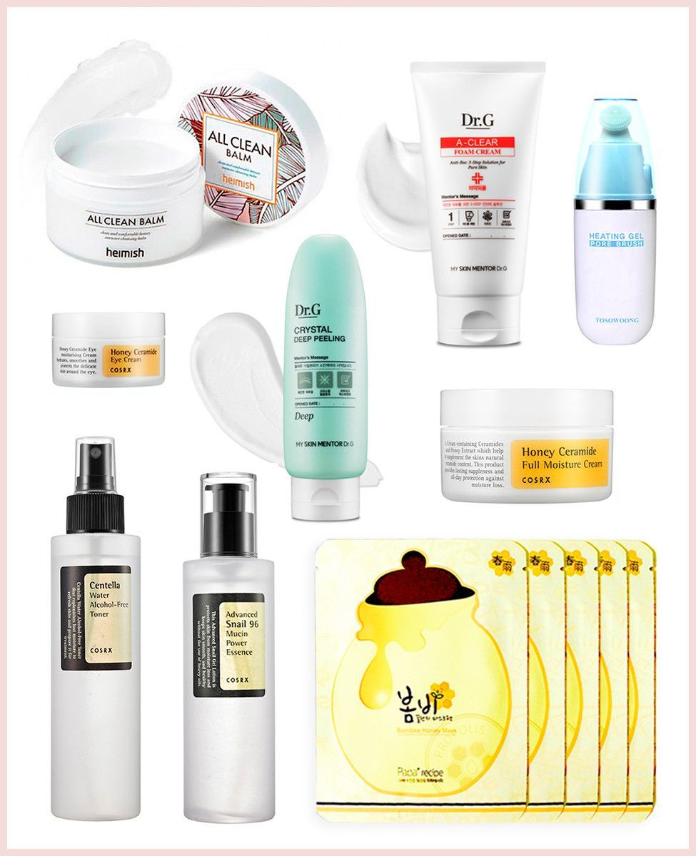 Korean Skincare Kit for Combination Skin Types Skin care