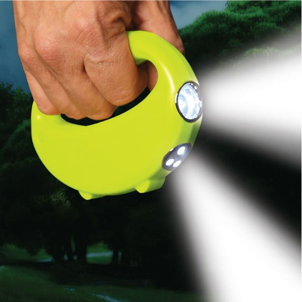 The Nightlighter Flashlight is a unique handheld flashlight that comes with two beams instead of just one.