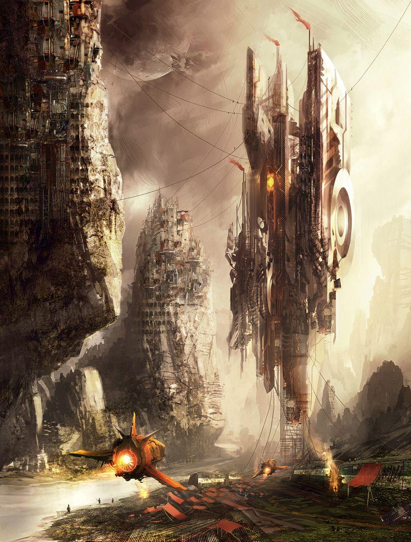 Nouvelle galerie d'illustrations de scènes de Science-Fiction, avec  notamment certaines qui