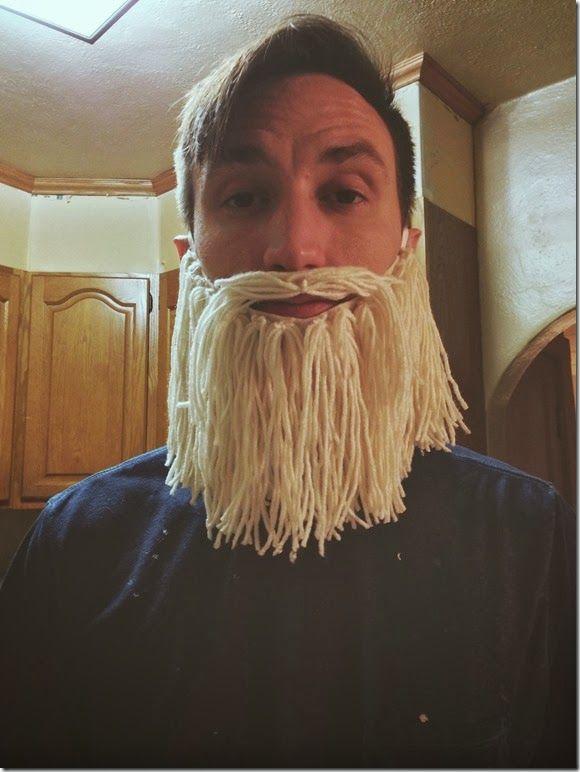 Diy Yarn Beard Kids Viking Costume Fake Beards Beard Costume
