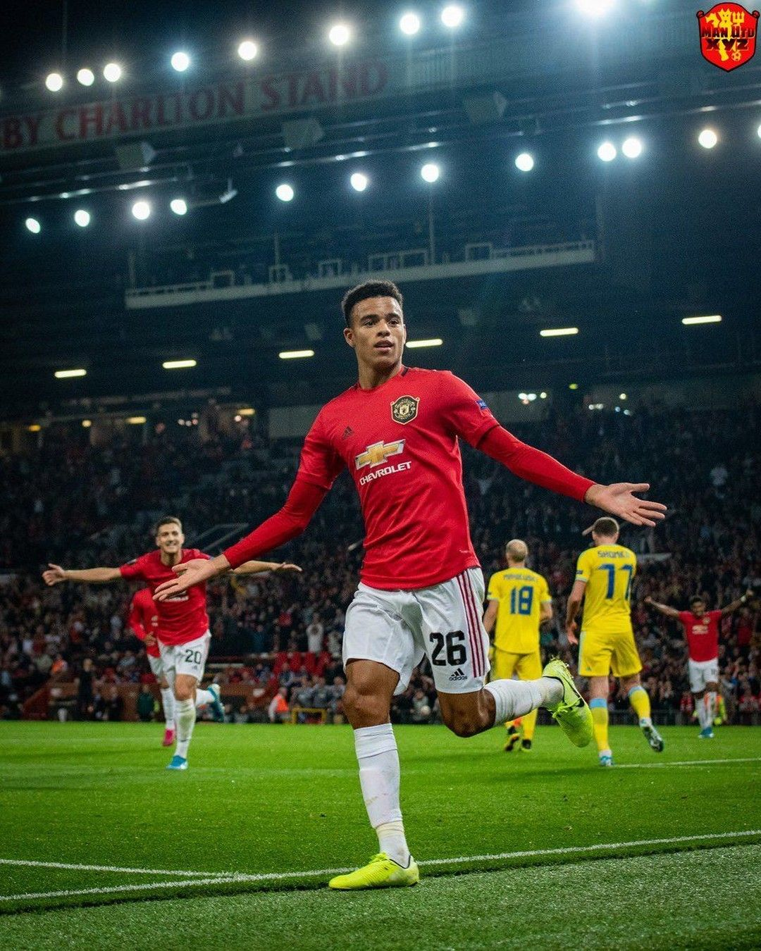 Mason Greenwood P90 In The Europa League This Season 8 82 Final Third Pressures 4 31 Penalty Ar In 2020 Manchester United Football Club Man United Manchester United