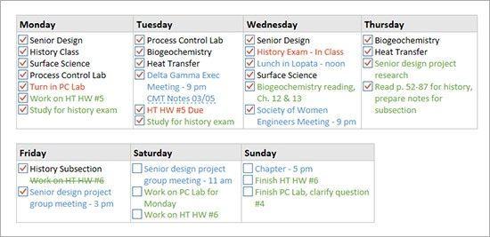 Onenote To Do List Template Onenote Task List Template Onenote To