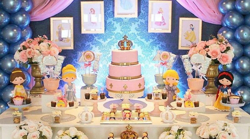Festa Princesas Disney By Tom Decor Decoracao Festa Princesas