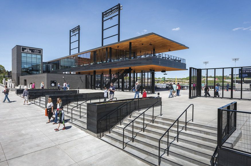 CHS Field Architect Magazine Snow Kreilich Architects