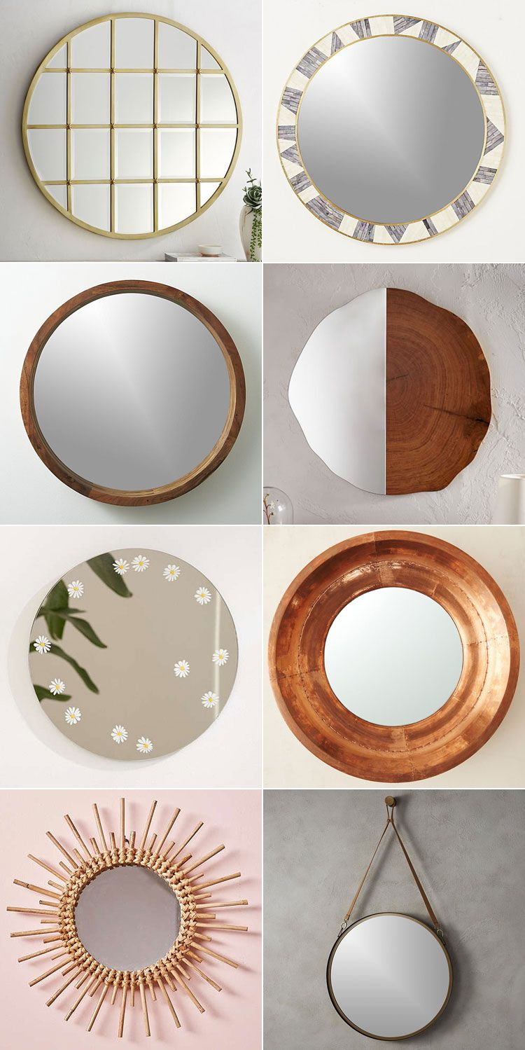 40 Resources For Stylish Round Mirrors Jojotastic Living Room Decor On A Budget Home Decor Bedroom Wall Decor Diy Living Room