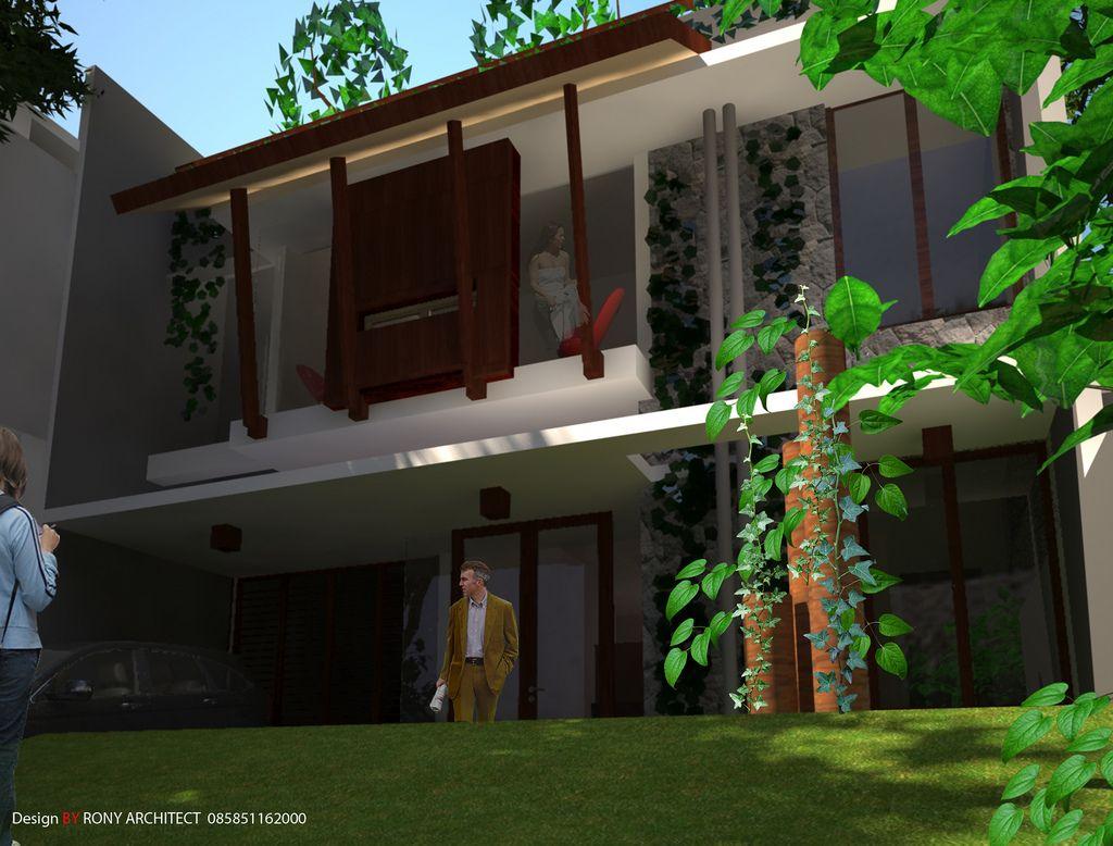 Beautiful The Garden House At Surabaya Design By Roni Architect