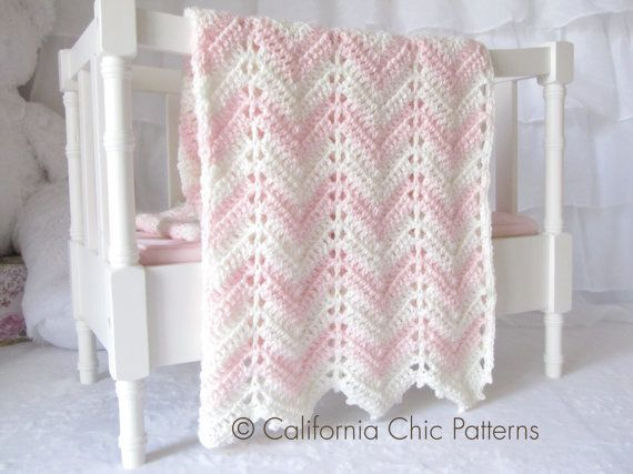 Blankets made with this pattern shown are Grey Chevron, Pink Chevron and Blue Chevron. Description from ravelry.com. I searched for this on bing.com/images