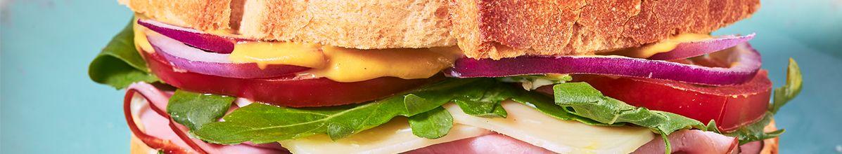 Bannière boite sandwich