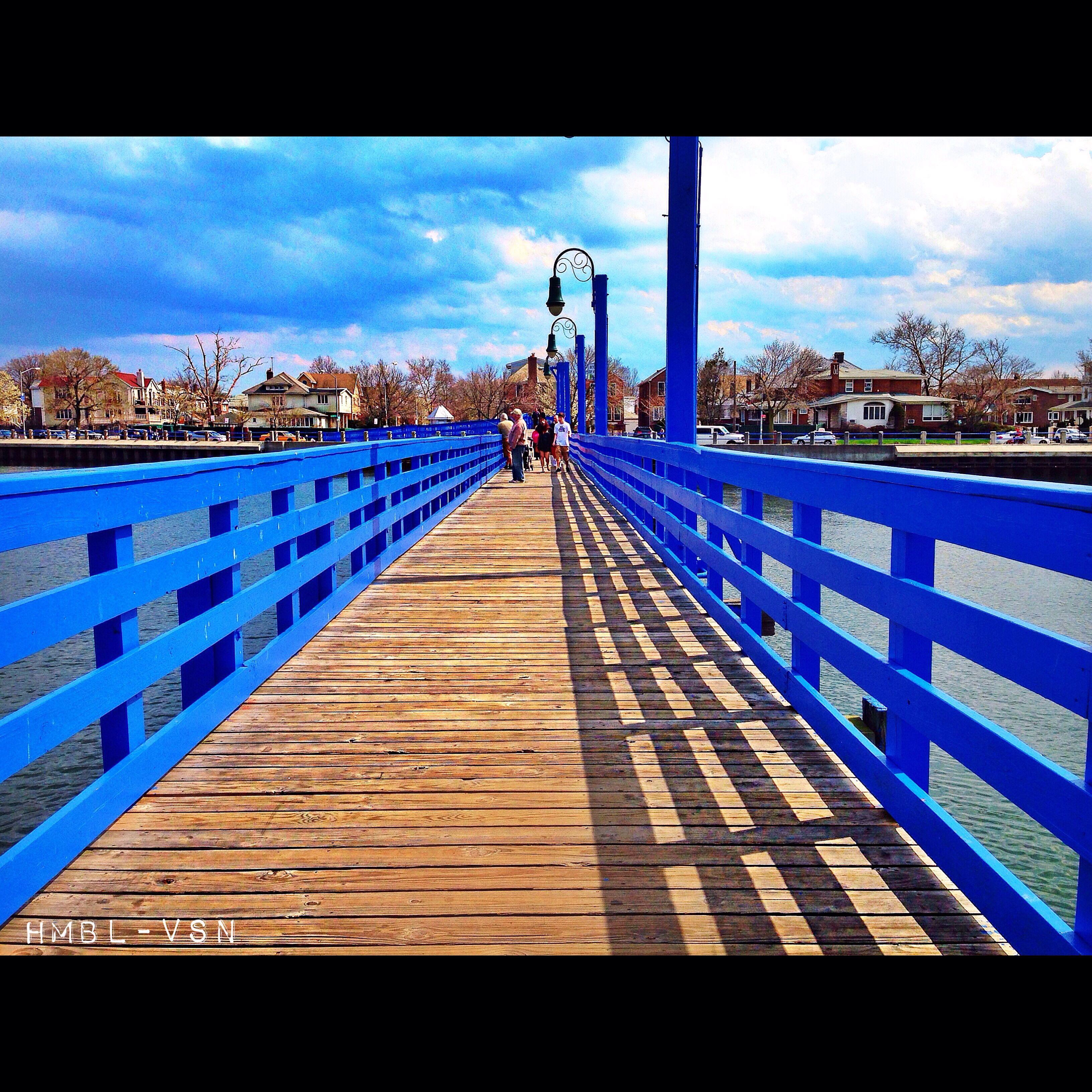 sheepshead bay foot bridge • brooklyn • brooklyn newyork