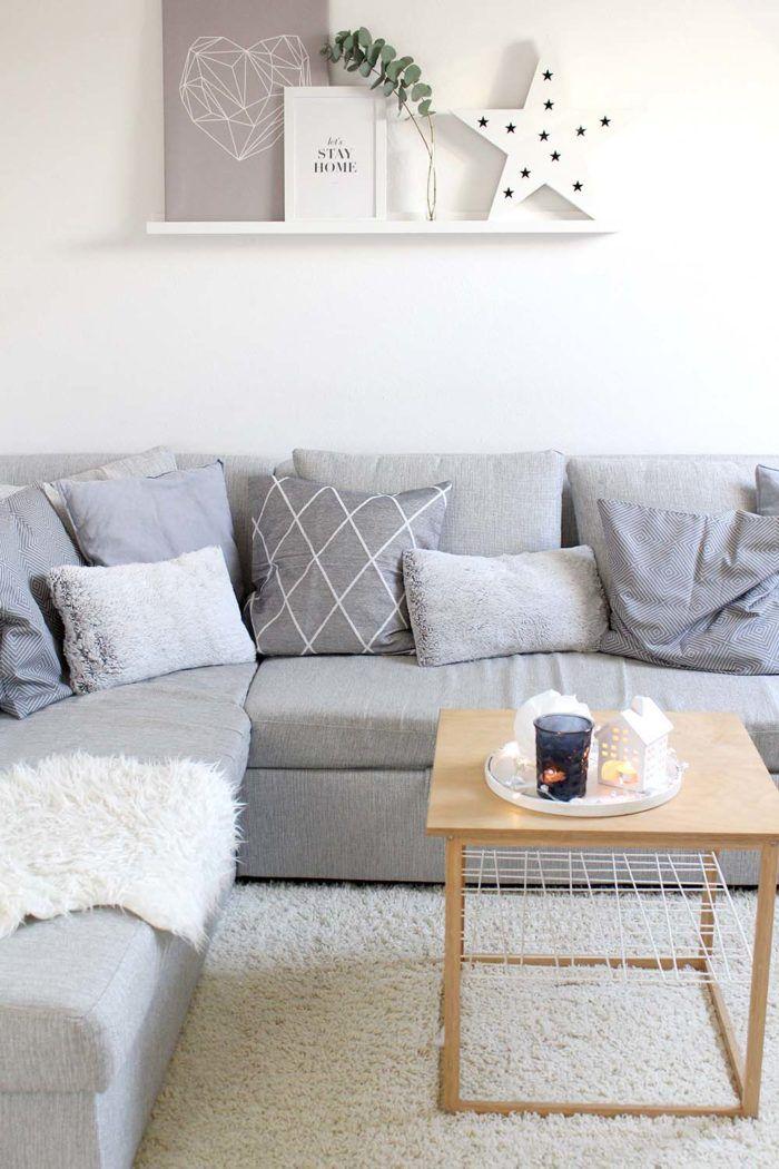 Wohnzimmer weihnachtlich dekorieren - 3 einfache Tipps - wohnzimmer design tipps