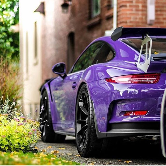Ultra Violet Gt3rs Porsche Ultra Violet Color Of The Year